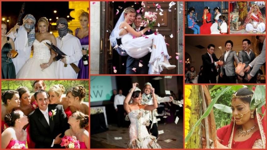 10 Strange Wedding Rituals From Around The World