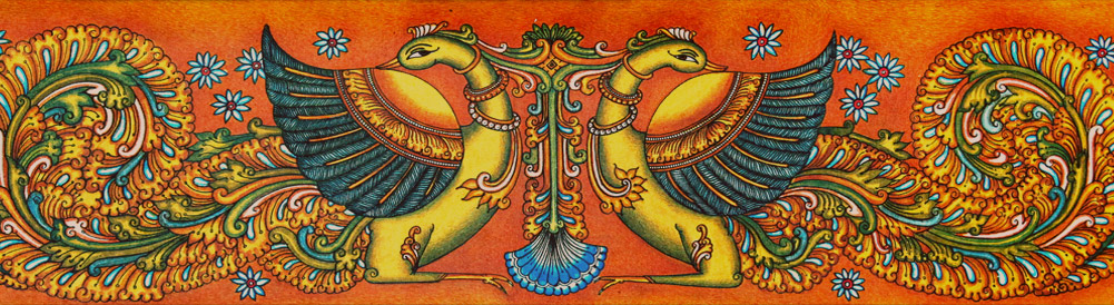 Kerala souvenirs from the heart of the malayalee for Buy kerala mural paintings online