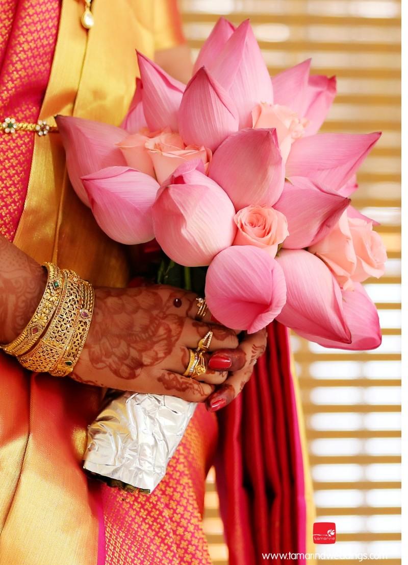 The Bridal Bouquet Up Close